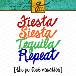 Cruise Vacation SVG File, SVG Cruise Saying, Beach Shirt SVG File, Tequila Saying Svg, Rainbow Fiesta Saying Svg, Beach Vacation Svg