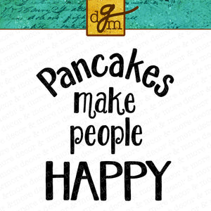 Pancakes SVG File Saying, Kitchen Quote SVG, Funny Kitchen Sign SVG, Home Decor SVG, Wall Words SVG