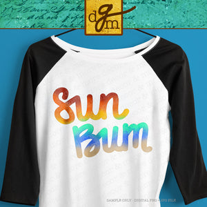Beach Sublimation Design Bundle, 9 Colorful Beach Sublimation Digital Downloads, Palm Tree Sublimation File, Funny Seagull Sublimation File