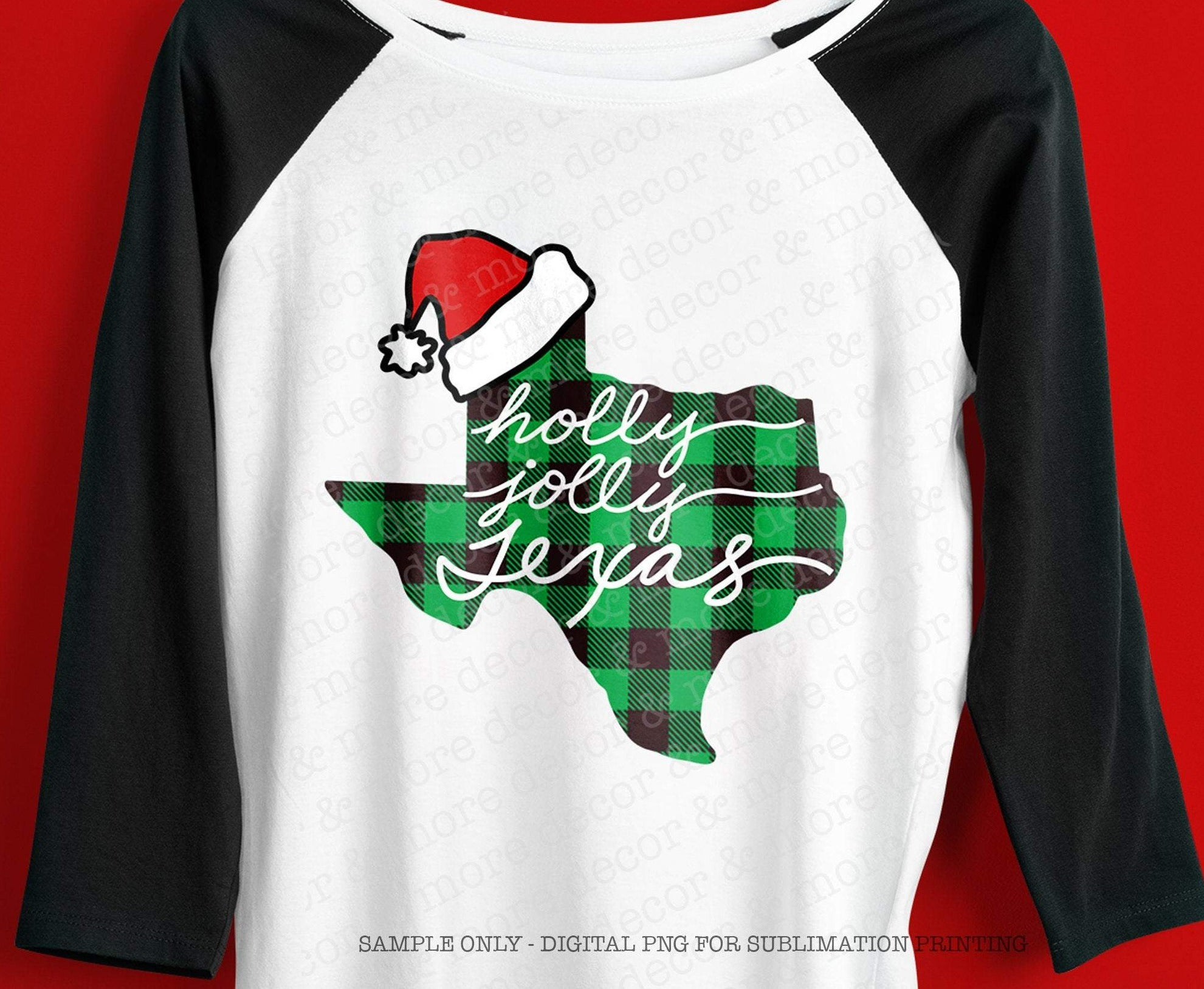 Texas Christmas Sublimation Design Digital Download, Christmas Shirt Sublimation, Texas Shirt Sublimation, Buffalo Plaid Sublimation Design