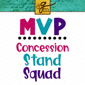 Baseball Sister SVG File, Concession Stand Squad SVG File, Softball Sister SVG File, Football Sister Svg, Sports Sister Saying Svg Cricut