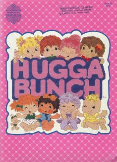 THE HUGGA BUNCH CARTOON MOVIE DVD COMPLETE +BONUS 1985