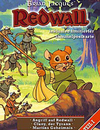 REDWALL COMPLETE 39 EPISODES KIDS TV SHOW 3 DVD SET 1999 BRIAN JACQUES