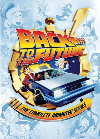 BACK TO THE FUTURE 4 DVD DISCS CARTOONS 26 Episodes 1991-92
