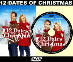 XMAS 12 DATES OF CHRISTMAS MOVIE 2011 ON DVD