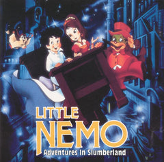 LITTLE NEMO: ADVENTURES IN SLUMBERLAND VERY RARE MOVIE 1989 DVD