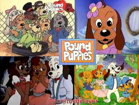 POUND PUPPIES 1986-89 COMPLETE CARTOON SEASON 1-3 ( 4 DVD SET)