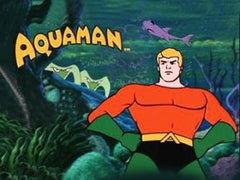 AQUAMAN COMPLETE 36 EPISODES DVD SET VERY RARE 1968 CARTOON