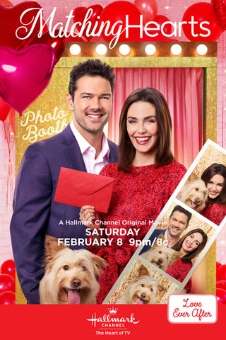 TV MATCHING HEARTS HALLMARK MOVIE DVD 2020
