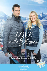 XMAS LOVE ON THE SLOPES HALLMARK MOVIE 2018 DVD
