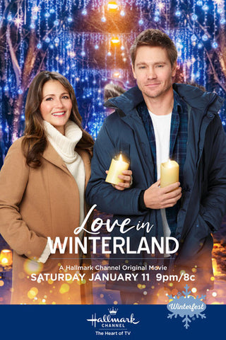 TV LOVE IN WINTERLAND DVD MOVIE HALLMARK 2020