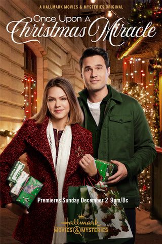 XMAS ONCE UPON A CHRISTMAS MIRACLE (2018) HALLMARK MOVIE DVD