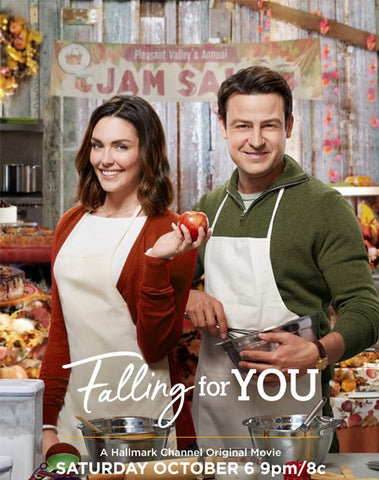 TV FALLING FOR YOU HALLMARK MOVIE ROMANCE 2018 DVD