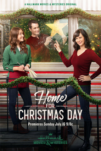 XMAS HOME FOR CHRISTMAS DAY 2017 HALLMARK MOVIE DVD