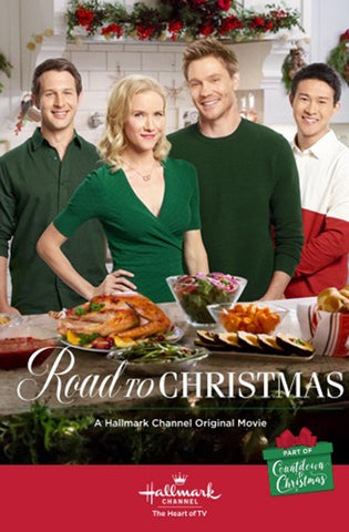 XMAS ROAD TO CHRISTMAS 2018 HALLMARK MOVIE DVD