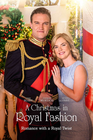 XMAS A CHRISTMAS IN ROYAL FASHION HALLMARK MOVIE 2018 DVD