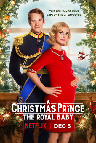 XMAS A CHRISTMAS PRINCE 3: THE ROYAL BABY 2019 HALLMARK DVD