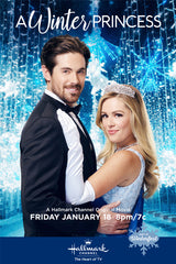 XMAS A WINTER PRINCESS 2019 HALLMARK MOVIE DVD