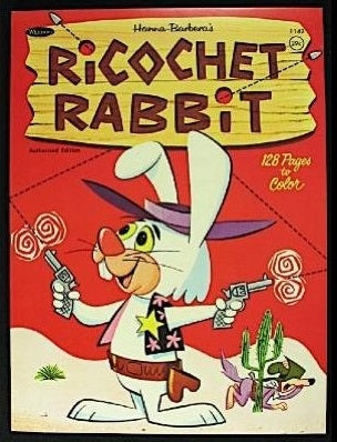 RICOCHET RABBIT & DROOP-A-LONG COMPLETE 20 EPISODES DVD SET EXTREMELY RARE CARTOON 1964