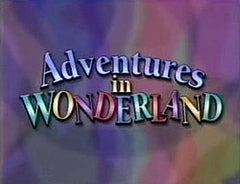Adventures in Wonderland live action musical Disney series on dvd 1992 TV EXTREMELY RARE