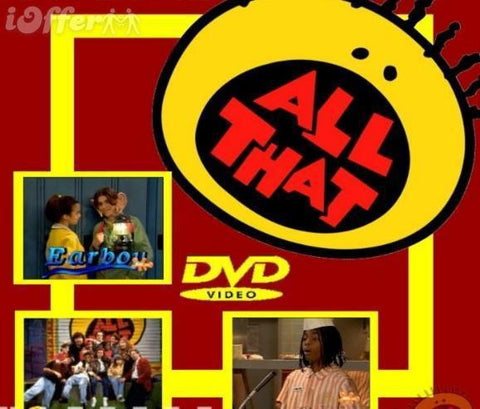 TV ALL THAT ALMOST COMPLETE 7 SEASONS 12 DVD SET VERY RARE SHOW 1994-2005