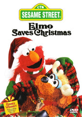 XMAS ELMO SAVES CHRISTMAS DVD 1996 VERY RARE SESASME STREET MOVIE