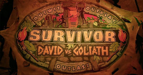 TV SURVIVOR SEASON 37 DAVID VS GOLIATH 6 DVD SET