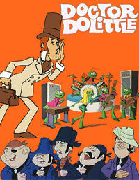 DOCTOR DOLITTLE COMPLETE 17 EPISODES CARTOON 2 DVD SET ...