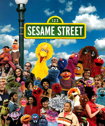Sesame Street: 40 Years of Sunny Days Complete over 5 Hrs DVD Set 1969-2009