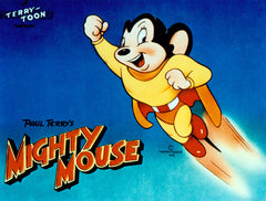 MIGHTY MOUSE 3 DVD SET ALL 65 ORIGINAL EPISODES BONUS TERRYTOONS 40s 50s
