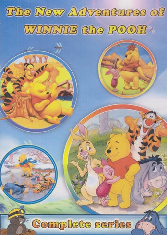 The New Adventures of Winnie the Pooh complete series 4 DVD Set 1988-91