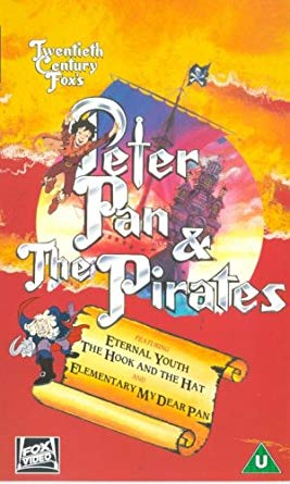 PETER PAN AND THE PIRATES DVD SET COMPLETE 65 EPISODES VERY RARE CARTOON 1990-91