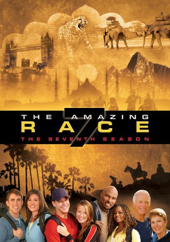 TV THE AMAZING RACE COMPLETE SEASON 7 2004 (5 DVD SET)
