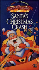 XMAS SANTA'S CHRSTIMAS CRASH VERY RARE MOVIE 1995 DVD