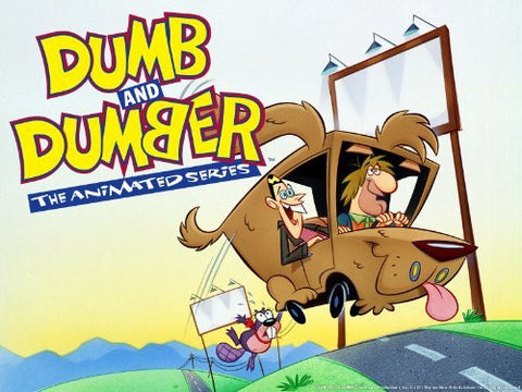 Dumb & Dumber The Animated Cartoon Complete 13 Episodes 2 DVD Set Very Rare 1995