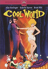 TV COOL WORLD 1992 MOVIE BRAD PITT KIM BASINGER VERY RARE DVD