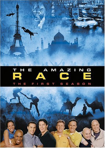 TV THE AMAZING RACE COMPLETE SEASON 1 2001 (4 DVD SET)
