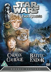 TV EWOK ADVENTURE DOUBLE FEATURE CARAVAN OF COURAGE/ BATTLE OF ENDOR DVD 1984 1985 STAR WARS