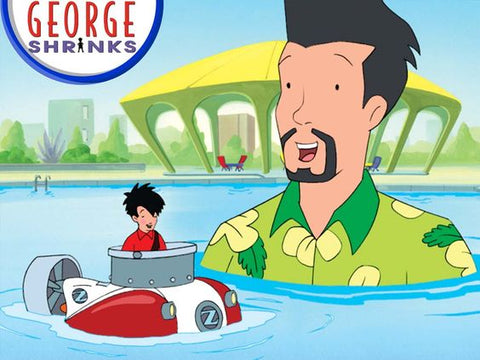 GEORGE SHRINKS COMPLETE 40 EPISODES 5 DVD SET 2000-04 VERY RARE CARTOON