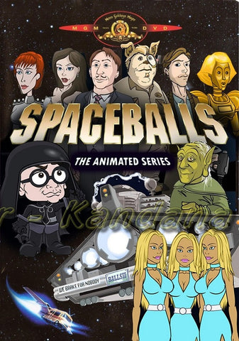SPACEBALLS ANIMATED SERIES COMPLETE 13 EPISODES RARE 2 DVD SET 2008