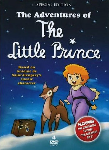 THE ADVENTURES OF THE LITTLE PRINCE 4 DVD SET 1978-79
