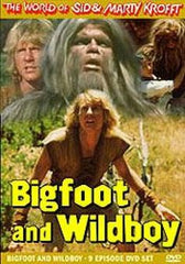 TV BIGFOOT & WILDBOY TV SERIES ON 3 DVDs VERY RARE SHOW 1977-79