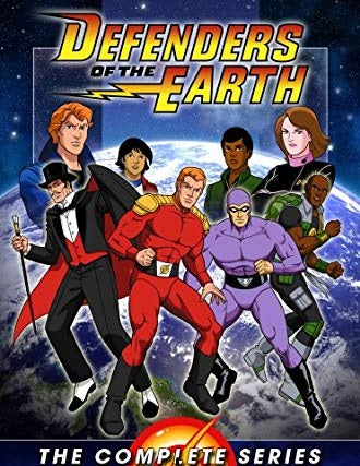 DEFENDERS OF THE EARTH COMPLETE 65 EPISODES DVD SET 1986-87 VERY RARE CARTOON