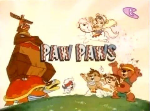PAW PAWS BEARS COMPLETE 21 EPISODES KIDS 2 DVD SHOW 1985 VERY RARE