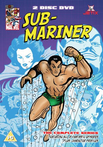 SUBMARINER 2 DVD CARTOONS '60s SUB-MARINER ANIMATED