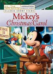 XMAS MICKEY'S CHRISTMAS CAROL 1983 CARTOON MOVIE DVD XMAS DISNEY MICKEYS