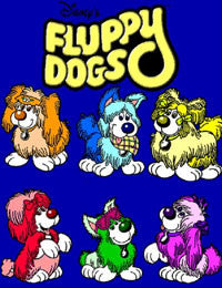 FLUPPY DOGS KIDS DISNEY DVD MOVIE 1986 ABC VERY RARE