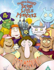 SEVEN LITTLE MONSTERS COMPLETE 40 EPISODES CARTOON DVD SET 2000-2003