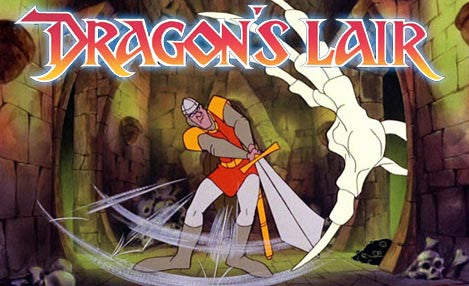 DRAGON'S LAIR CARTOON COMPLETE 13 EPISODES 2 DVD SET 1984-85