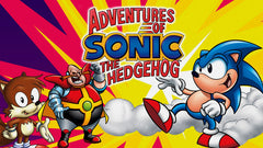 ADVENTURES OF SONIC THE HEDGEHOG COMPLETE 65 EPISODES 8 DVD SET 1993-96